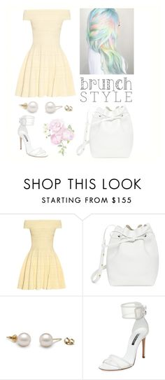 """""""Pastel Belle! 🌹"""" by abbybencsik ❤ liked on Polyvore featuring Alexander McQueen, Mansur Gavriel and Casadei"""