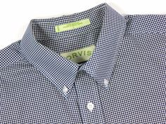 Orvis mens Large Houndstooth Casual Long Sleeve Shirt Black White Button Down #Orvis #ButtonFront #weartowork #Houndstooth #qualityshirt