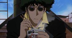 anime eating cowboy bebop spike spiegel food
