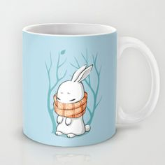 Winter Bunny Mug by Freeminds - $15.00