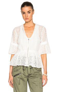 8437891b94 MARISSA WEBB Moritz Lace Top.  marissawebb  cloth   White Lace Blouse