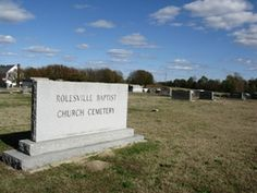 Rolesville Baptist Church Cemetery  Rolesville  Wake County  North Carolina  USA