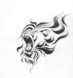 Leo Tattoo Design Pic.