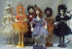 cloth doll witch | Stephanie Novatski