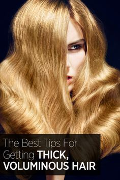 The tips to getting your BEST hair ever: