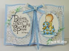LOTV - Little Ducky with papers from Pastel Dreams paper pad and Set 61 Quotable Celebrate sentiment by Donna Mosley
