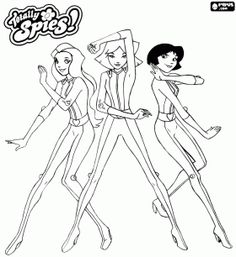 totally spies coloring pages.html