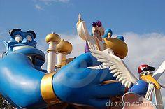 *GENIE & ALADDIN ~ during a parade by Chicco7, via Dreamstime