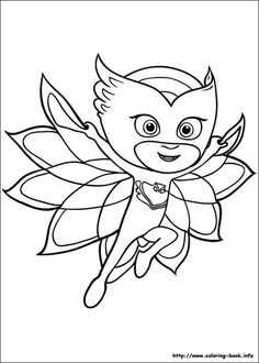 pj masks coloring picture