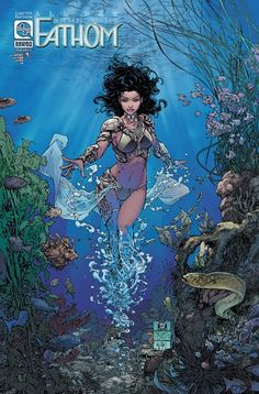 In this PREVIEWSworld Exclusive interview Blake Northcott talks about <strong>All New Fathom</strong> for Aspen Comics, and how she hopes to carry the torch for revered comics legend Michael Turner.