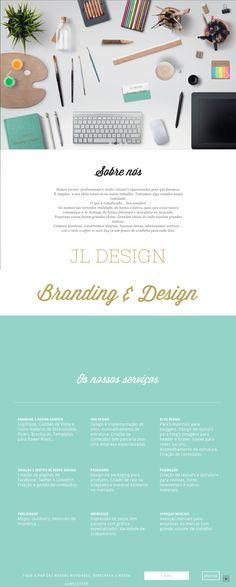- responsive website (wordpress single page theme) for a portuguese design studio - interesting portfolio - http://www.jldesign.pt/