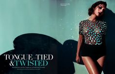 Rashida Jones for Flaunt