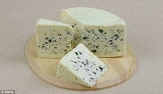 Roquefort cheese could have anti inflammatory effects.