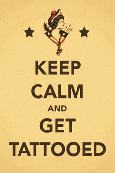 Keep calm #tattoo iPhone 4 & 4S wallpapers - mobile9