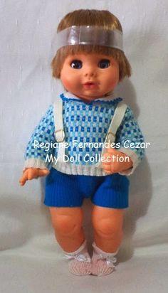 Eu ganhei um boneco como esse do meu pai, no meu aniversário. Brinquei demais com ele, tanto que o cabelinho chegou até a ficar duro rsrs. Q...