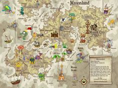 treasure maps to print for kids | Kidlandia Lets Children Rule Their World - Rave & Review