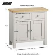 This matt grey mini sideboard is part of our Farrow range of solid wood and real lacquered oak living furniture. 2 drawers and 2 doors with real oak top. Hallway Furniture, Living Furniture, New Furniture, Painted Furniture, Small Sideboard, Oak Sideboard, Small Hallways, Homestead Living, Modern Country