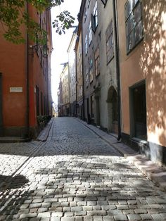 Places to go (again) - Gamla Stan, Stockholm