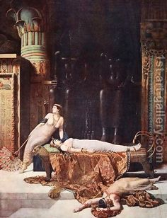 John Maler Collier:The Death of Cleopatra