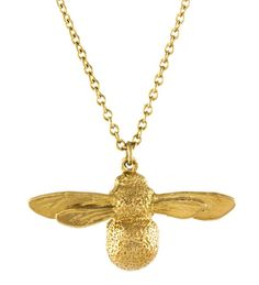 This baby bee pendant from iconic London-based jeweller Alex Monroe is the ideal gift for a twenty-something woman.