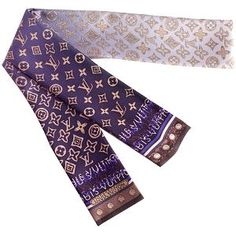 Louis Vuitton Monogram Map Bandeau Scarf.. goes nicely with the weekender don't you think?  $130