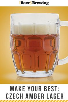 The Czech Amber Lager is a session lager with big flavor, with a unique palate of impressions competing for your attention.