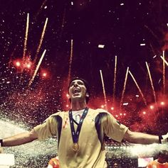 Buffon after 2006 World Cup in Germany