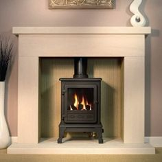 4KW Firefox 5 Conventional Gas Stove | Buy Conventional Flue Gas Stoves Online | UK Stoves
