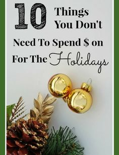 The holidays are notorious for putting people in debt. We often spend what we don't have in the spirit of the season and decide to worry later. Not only can this have financial consequences, but it is totally unnecessary to begin with! Want to have a frugal Christmas? Here is a list of 10...