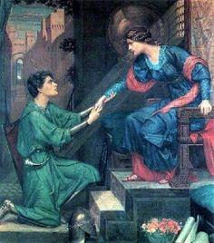 """""""TRISTAN AND ISOLDE"""" by Sidney Harold Meteyard"""