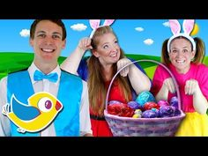 Five Little Bunnies   Easter Bunny Song for Children   Hippity Hop Song for Kids - YouTube