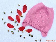 Здравствуйте, странамамочки!  Связала я для доченьки шапочки на осень и холодную осень.  Первая шапочка на теплую осень.  Шапочка очень простая. Пряжа детский каприз, пехорка.