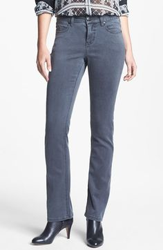 Liverpool Jeans Company 'Sadie' Straight Leg Supersoft Stretch Jeans (Regular & Petite) available at #Nordstrom