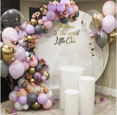 Ideas baby girl welcome balloons Balloon Garland, Balloon Decorations, Birthday Party Decorations, Wedding Decorations, Birthday Parties, Welcome Home Decorations, Welcome Home Baby, Welcome Baby Girls, Baby Shower Themes