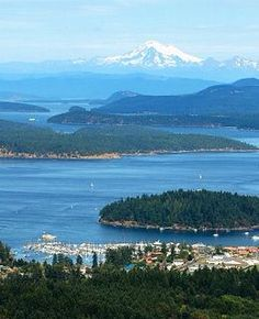 San Juan Islands, North Puget Sound, Washington State, USA I love this place! Oh The Places You'll Go, Great Places, Places To Travel, Beautiful Places, Places To Visit, Beautiful Islands, Orcas Island, Evergreen State, Destinations