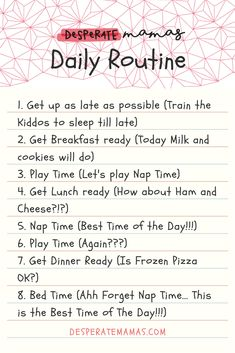 Hahaha Bet at least one of these crosses your mind throughout the day! Parenting Quotes, Parenting Advice, Kids And Parenting, Chores For Kids, Everything Baby, Activities To Do, Life Advice, Pregnancy Tips, Raising Kids