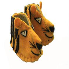 Tiger Zooties Baby Booties - Silk Road Bazaar