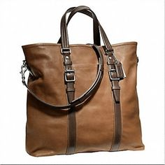 Coach - Leather Tote.