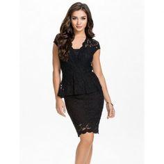 黒色ファンションでレース作成女性用プラスサイズスカート