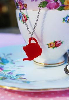 Tea Pot Necklace