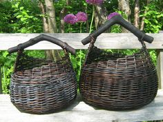 Baskets, black willow