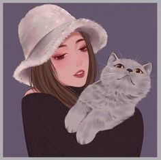 Want a catchy avatar? Try our custom portraits by true artists. Cartoon Art Styles, Cartoon Icons, Girl Cartoon, Portrait Cartoon, Portrait Art, Manga Watercolor, Cool Avatars, Manga Illustration, Illustrations