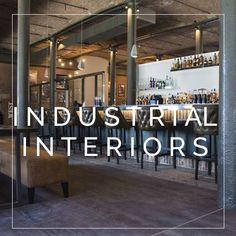 Industrial & Rustic Interior, Industrial Interiors, Rustic Interiors, Get The Look, Farmhouse Interior