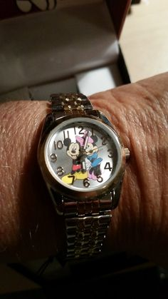 New Ladies Solid Disney Watch - Mickey Mouse &Mini Mouse - $40