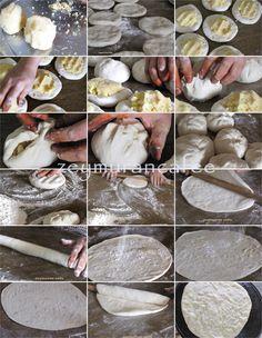 velibah patatesli çerkez böreği