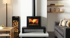 Studio 500 Freestanding Wood Burning Stove - Stovax Stoves