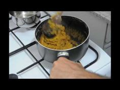How To Cook Halva - آموزش درست کردن حلوا - YouTube
