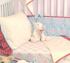 Lily Matilda 3-pc Toddler Bedding Set Multi by Persnickety. $133.00. Multiple designer prints pieced on fitted sheet. Top sheet with standard pillow case are embellished with fun prints. Made in America. Polyester/Cotton. Multi. With Cotton, Polyester fabric.