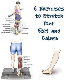 In normal everyday activities, the muscles of the foot and lower leg are used more extensively than Stretches For Legs, Stretches For Runners, Muscle Stretches, Stretch Calf Muscles, Calf Pain, Muscle Body, Muscle Fitness, Muscle Nutrition, Stretching