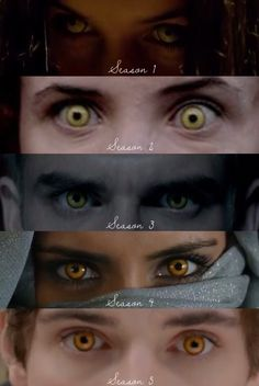 Yellow eyes | Wolfblood Seasons 1-5